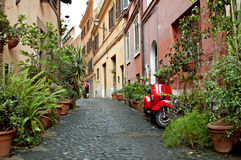 La rue 2 de Rome Photographie stock libre de droits