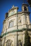 La rue la plus ancienne en capitale de l'Espagne, la ville de Madrid, son a Images libres de droits