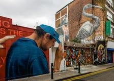 La rue toujours changeante de Hanbury photographie stock libre de droits