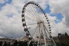 La rueda de Manchester imagenes de archivo