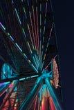La rueda de Seattle en la noche Imágenes de archivo libres de regalías