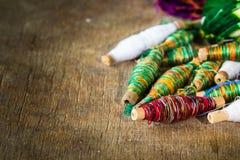 La rueda del algodón es cruda Fotografía de archivo libre de regalías