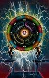 La rueda del amor ilustración del vector
