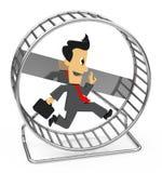 La rueda del hámster Imagen de archivo libre de regalías