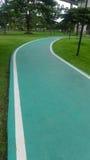La ruelle pour courir et marcher Image libre de droits