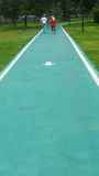 La ruelle pour courir et marcher Image stock