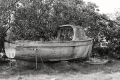 La ruina de la nave Fotos de archivo libres de regalías
