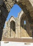 La ruina de la Virgen del municipio escocés Foto de archivo