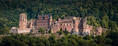 La ruina del castillo del castillo en Heidelberg, rttemberg del ¼ de Baden WÃ, Alemania fotos de archivo