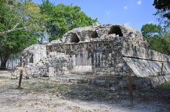 La ruina del maya del itza del chichen Imágenes de archivo libres de regalías