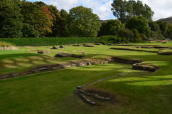 La ruina del parque de Holyrood permanece Fotografía de archivo libre de regalías