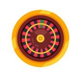 La ruleta del casino, jugando, coloreó campos del tambor Éxito, crecimiento financiero libre illustration