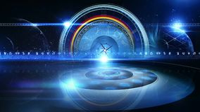 La ruota dello zodiaco con l'astrologia firma Virtualset royalty illustrazione gratis