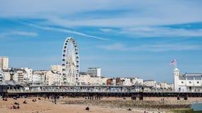 La ruota iconica di Brighton Fotografia Stock