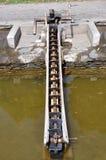 Ruota idraulica dell'Drago-Osso Fotografia Stock