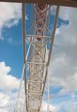 La ruota panoramica alta Fotografie Stock