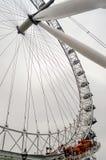 La ruota panoramica dell'occhio di Londra Fotografia Stock