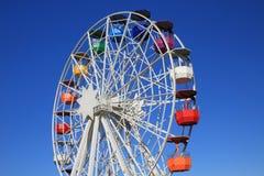 La ruota panoramica su Tibidabo fotografie stock