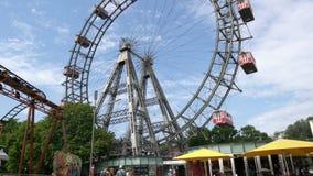 La ruota panoramica a Vienna archivi video