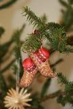 La Russia. Albero di Natale. fotografia stock