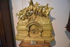 La Russia, Angarsk 02/01/2018 di museo dell'orologio antico Immagine Stock Libera da Diritti