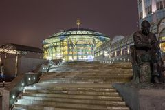 La Russia, Camera di musica a Mosca Immagine Stock Libera da Diritti