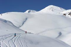 La Russia. Caucaso. Stazione sciistica di Elbrus Fotografia Stock Libera da Diritti
