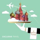La Russia, destinazione Fotografia Stock