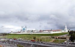 La Russia, Kazan, Cremlino Immagini Stock