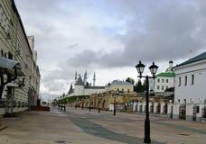 La Russia, Kazan, st di Baumana Fotografia Stock