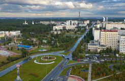 La Russia, Kogalym, Siberia occidentale Fotografie Stock