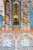 La Russia, Mosca, interno dipinto della cattedrale del ` s del basilico della st Fotografie Stock Libere da Diritti
