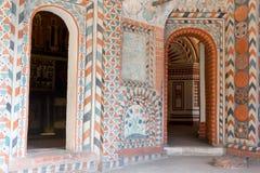 La Russia, Mosca, interno dipinto della cattedrale del ` s del basilico della st Fotografia Stock