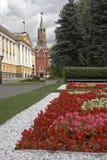 La Russia, Mosca, Kremlin, fiori Fotografia Stock