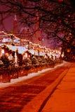 La Russia, Moscow-20, gennaio 2018, Natale a Mosca, Russia r Fotografia Stock