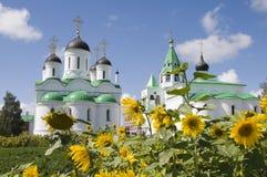 La Russia. Murom. Cattedrale di Spasopreobrazhenskiy Immagini Stock