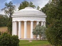 La Russia Pavlovsk Tempio di amicizia del padiglione Immagine Stock