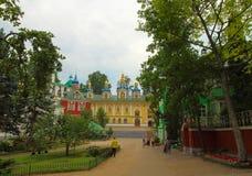 La Russia, Pechory Il monastero delle Pskov-caverne Immagini Stock