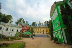 La Russia, Pechory Il monastero delle Pskov-caverne Immagine Stock Libera da Diritti