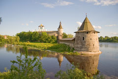 La Russia. Pskov Kremlin (Krom) Immagini Stock