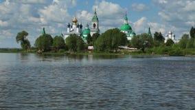 La Russia Rostov il grande Monastero di Spaso-Yakovlevsky stock footage