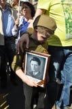 La Russia sopra può 9 70 anni di vittoria sopra fascismo Immagini Stock Libere da Diritti