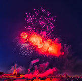 La Russia, St Petersburg, 07/30/2012 di saluto festivo al giorno di Immagine Stock Libera da Diritti