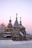 La Russia. Suzdal. Inverno Fotografie Stock Libere da Diritti