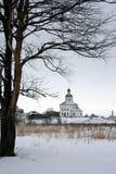 La Russia. Suzdal. Inverno Fotografia Stock