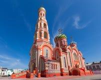 La Russia Tambov Cattedrale dell'ascensione nell'ascensione Monaster immagine stock