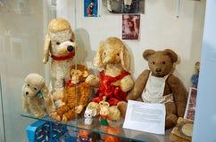La Russia Toy Museum nel deposito centrale del ` s dei bambini 11 febbraio 2018 Fotografia Stock Libera da Diritti