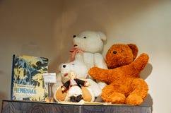 La Russia Toy Museum nel deposito centrale del ` s dei bambini 11 febbraio 2018 Immagini Stock