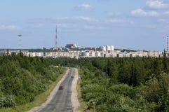 La Russia, Uchta, Repubblica del Komi Immagini Stock Libere da Diritti