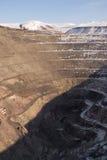 La Russia. Vecchia cava uranium abbandonata Fotografia Stock Libera da Diritti